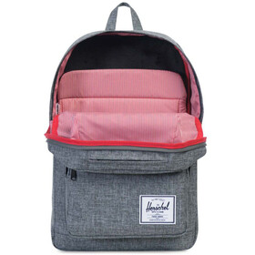 Herschel Pop Quiz Backpack Raven Crosshatch